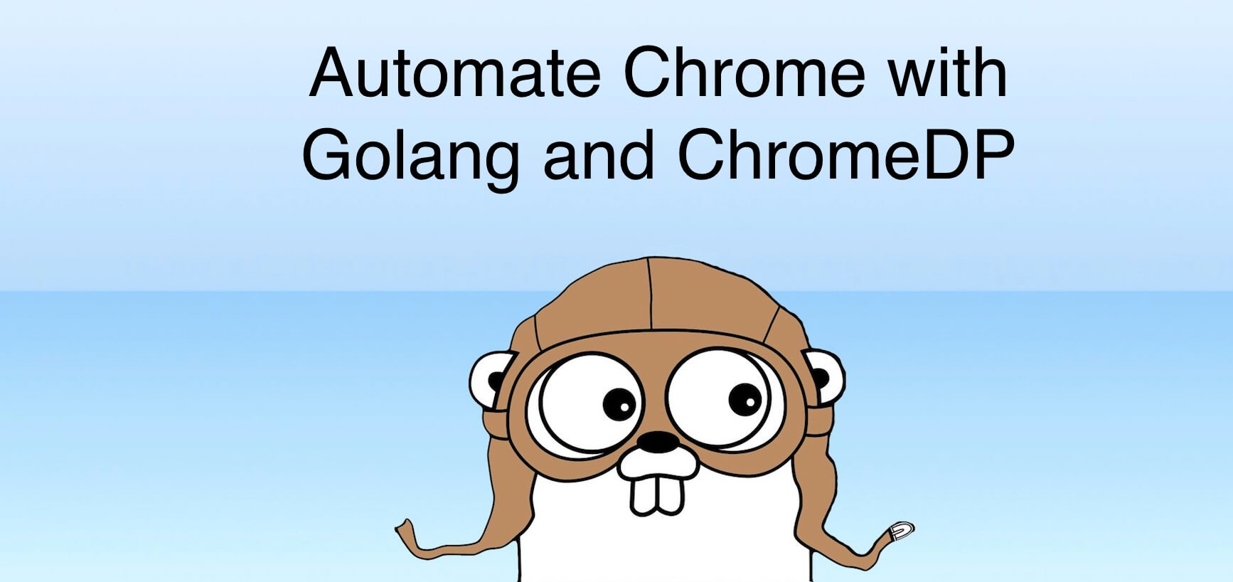 Automate Chrome with Golang and ChromeDP | Emir Ribic